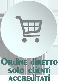 Ordine diretto solo per clienti accreditati